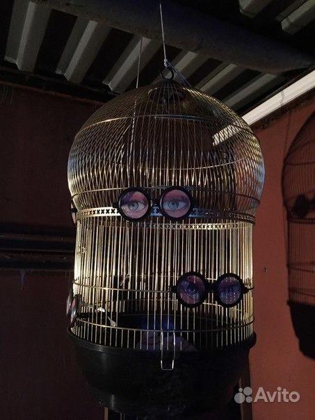Клетка для попугаев Ferplast Bali.  Москва