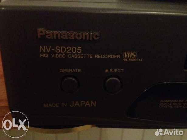 Видеомагнитофон VHS panasonic