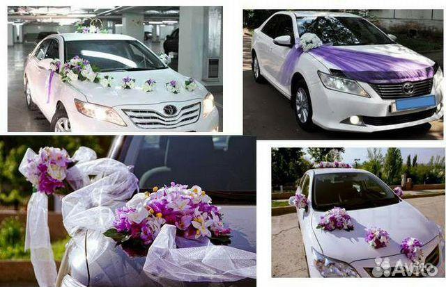 Делаем украшения для свадебных машин