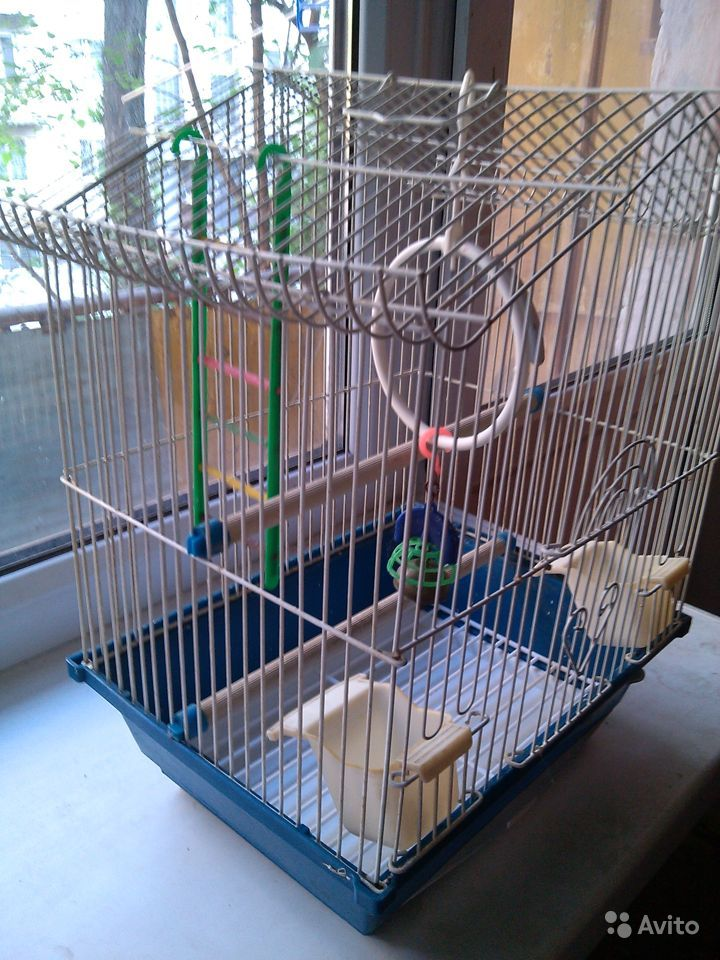 Клетка для птиц и мелких грызунов