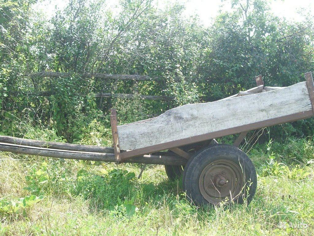 Двух колёсная телега для лошади