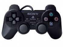 PS 2 Controller Analog Black (джойстик)