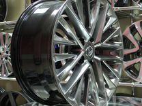 Новые диски Replica R18 5*114.3 на Toyota Lexus