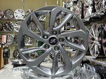 Новые диски R17 5x114.3 на Hyundai Tucson Santa Fe