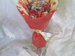 Букетик подсолнух) сухоцветы