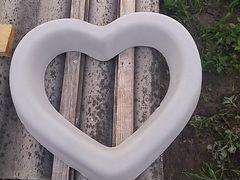 Сердце(клумба)