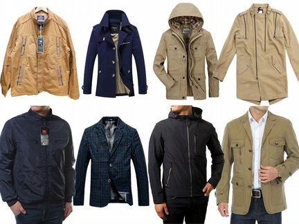 Куртки мужские весенние большой выбор