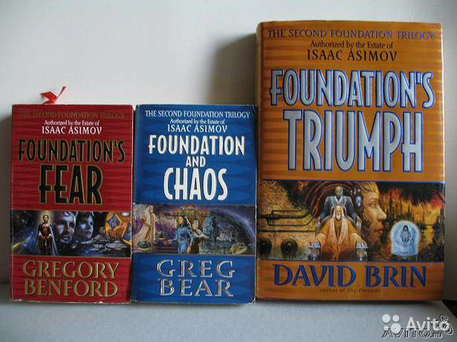 "Isaac Asimov""s foundation (second trilogy)"