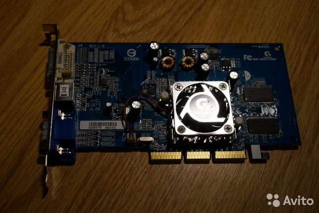 GV-N55128D nvidia GeForce FX 5500— фотография №1