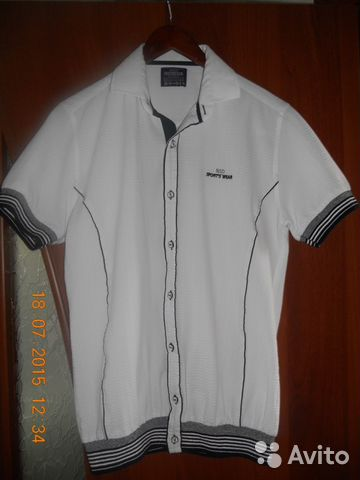 1b28b27f5b1 Продам мужскую рубашку новую - Личные вещи
