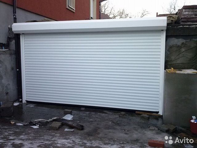 купить гаражные рольставни в челябинске и области
