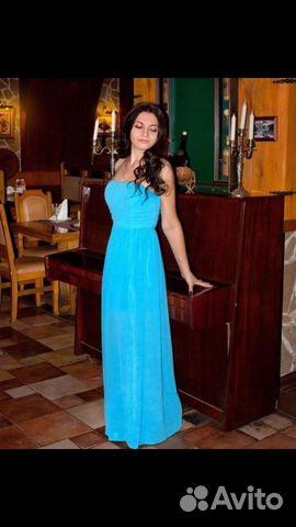 Вечернее платье авито рязань