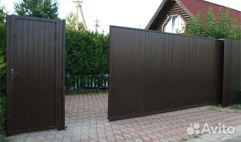 Ворота откатные механизм купить в Отрадном