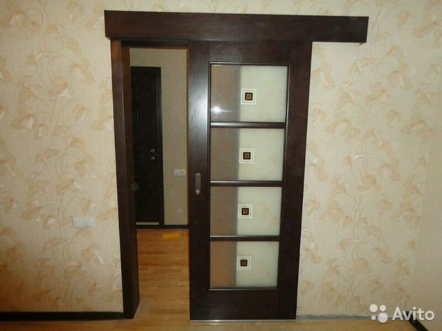 раздвижные двери в комнату фото