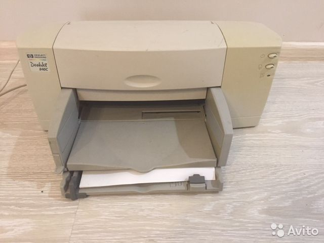 HP DESKJET 840C WINDOWS 7 DRIVER