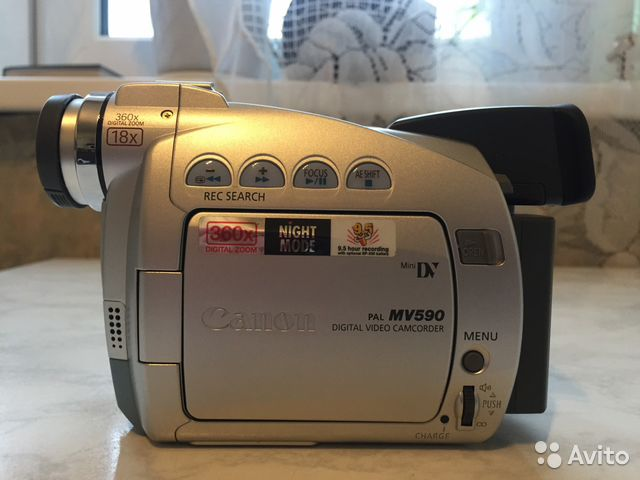 инструкция видеокамеры канон мв 590 того