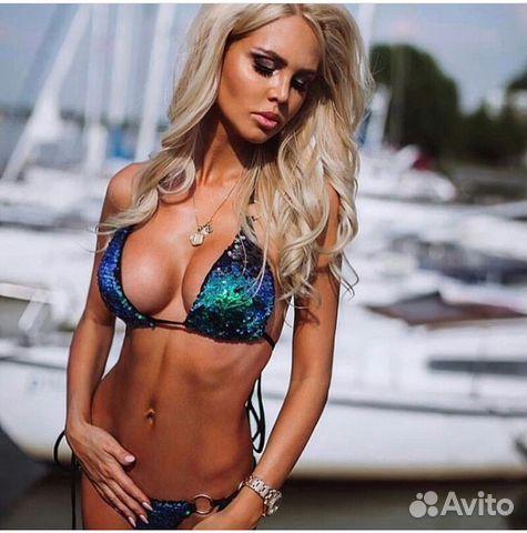 785868da36023 Новый купальник пайетки хамелеон все цвета р. S, M купить в Москве ...