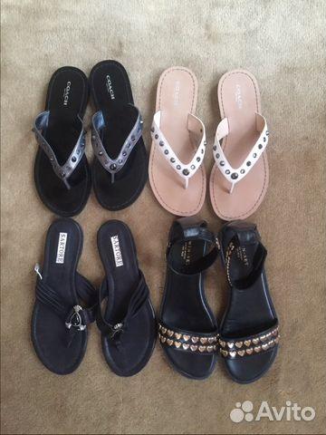 Летняя обувь 36,5-37 купить в Москве на Avito — Объявления на сайте ... dc127c0497b
