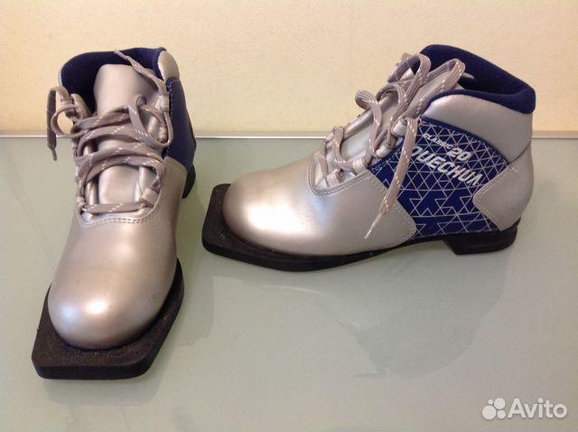 Детские лыжные ботинки 35 рр   Festima.Ru - Мониторинг объявлений 09848d171d0