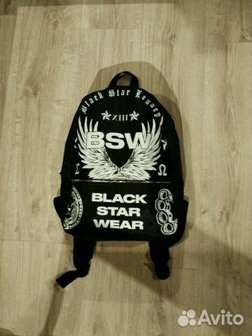 Рюкзак блэк стар рюкзаки космос для подростков