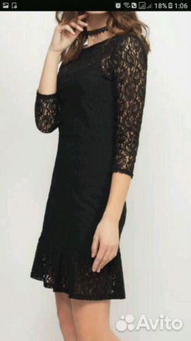 Платье кружевное  0e1b2d916b57b