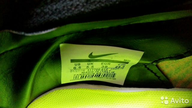 Бутсы Nike Mercurial Superfly 89514447413 купить 4