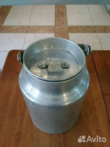 Бидон алюминиевый 10л СССР 89286331787 купить 2