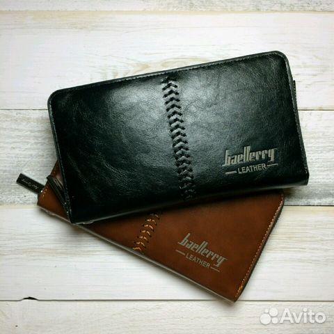 2a0f9e82a896 Портмоне, кошелек, клатч Baellerry Leather купить в Пермском крае на ...