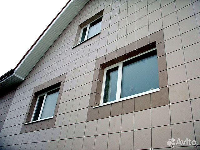 Отделка фасадов(Сайдинг,блок хаус,имитация бруса) купить 3