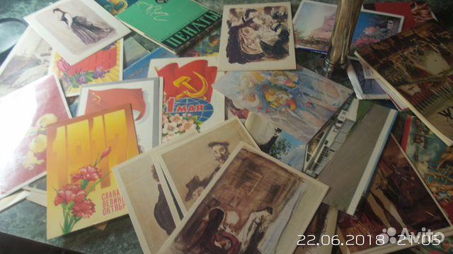 Продать старые открытки ссср выборгский район