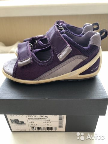 pre order casual shoes brand new Сандалии для девочки Ecco biom 23 размер купить в Республике ...