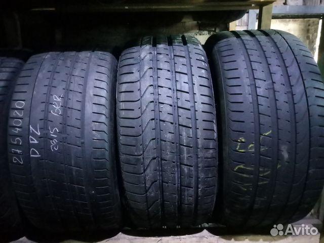 89211101675 Шины Pirelli PZero б/у 275/40/R20 (9шт)
