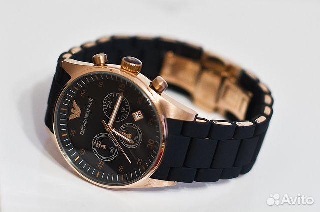 Мужские водонепроницаемые часы Emporio Armani