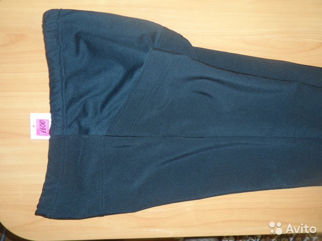 Новые утепленные брюки для беременных на флисе купить 2