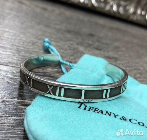 Tiffany Оригинал Браслет Atlas Серебро 925 купить в Москве на Avito ... 0c7bd72a048