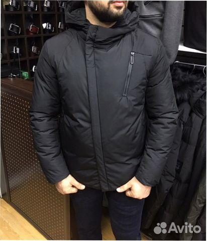 Мужской пуховик, куртка Armani 68ec4d3bd33