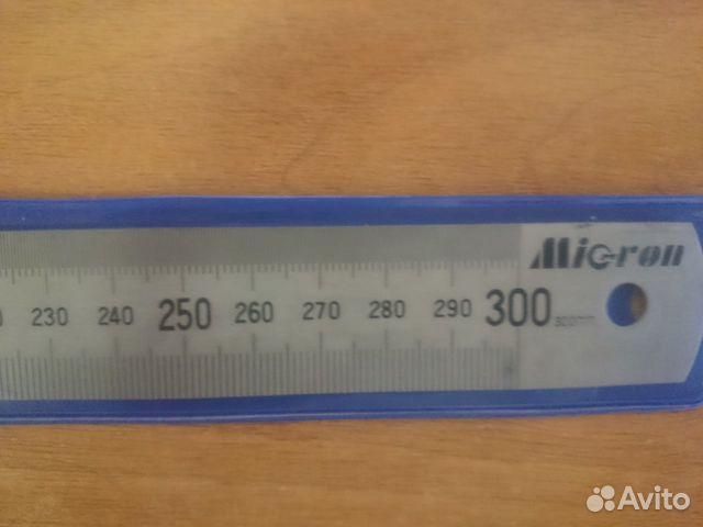 Линейка металлическая micron 89878457217 купить 3