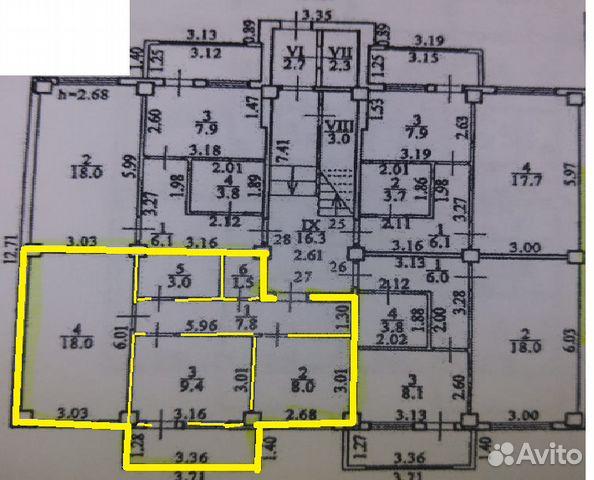 Продается двухкомнатная квартира за 2 500 000 рублей. Благовещенск, Амурская область, улица Шимановского, 148.