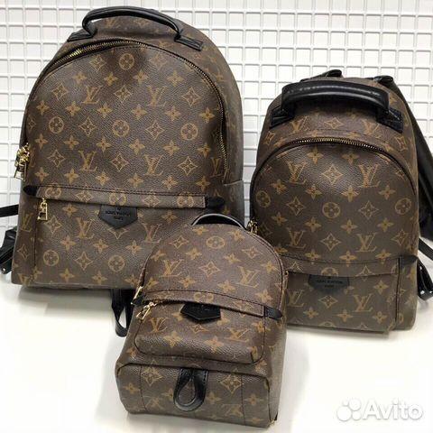 bed7ebeb6de2 Рюкзак Louis Vuitton купить в Москве на Avito — Объявления на сайте ...