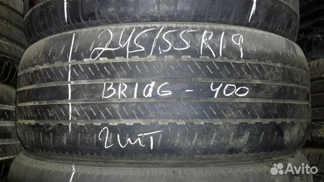 89805377242 245 /55 Bridgestone 2Шт.б/у