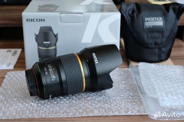 Pentax D FA 50 1.4 SDM AW HD новый, обмен купить 7