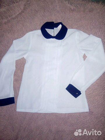 Блузка школьная купить 3