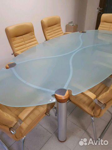 Итальянский переговорный стол с креслами 89038585678 купить 3