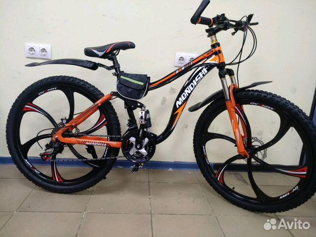 89527559801 Горный велосипед, 21 скорость,литые диски
