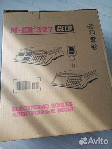 Весы торговые электронные Mercury M-ER 327ACP-15.2