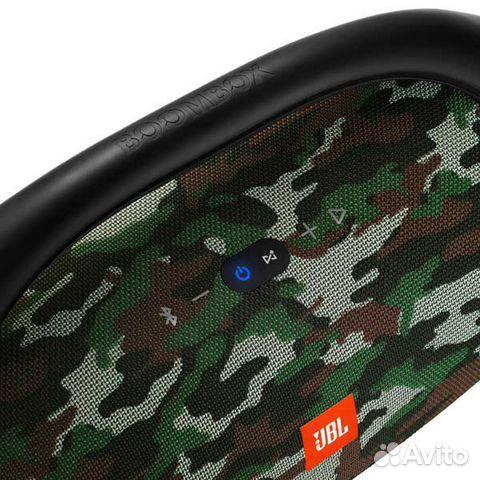 Новая Беспроводная акустика JBL Boombox хаки черна 89874729154 купить 4