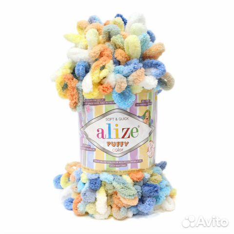 Пряжа Alize Puffy Color
