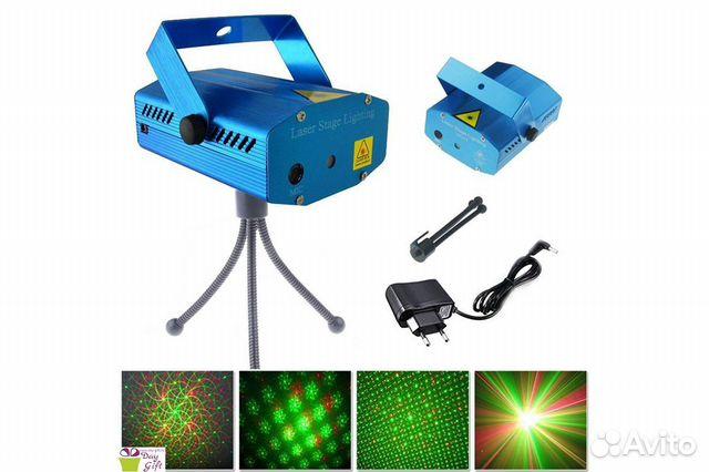 84942303606  Лазерный проектор Mini с треногой