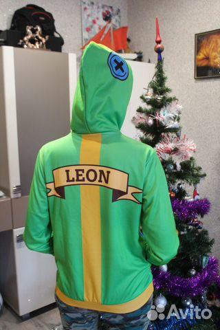 3d толстовка Leon из игры Brawl Stars купить в республике