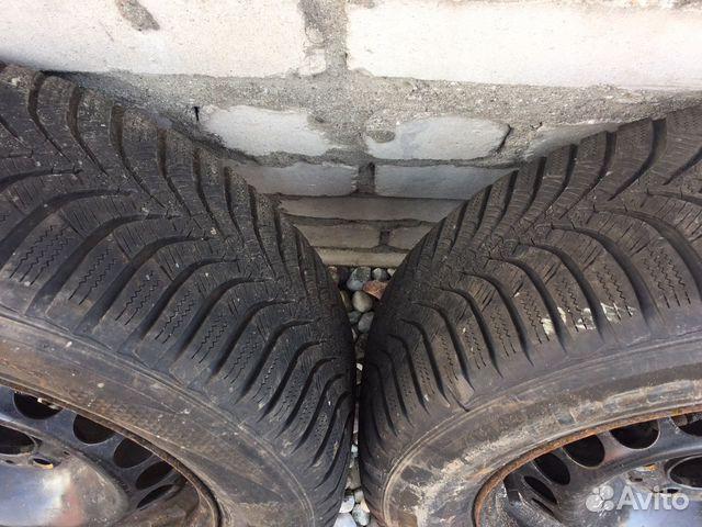 Продам колеса на мерседес R15 с зимней резиной 89114511841 купить 2